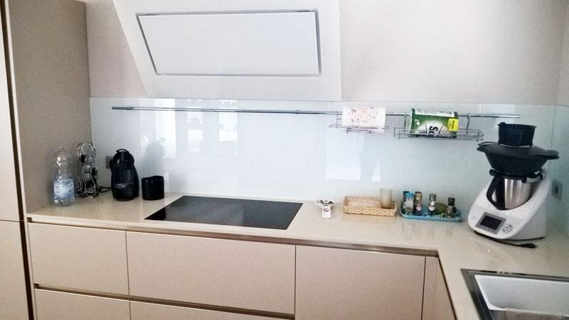 Retro cucine in vetro personalizzato