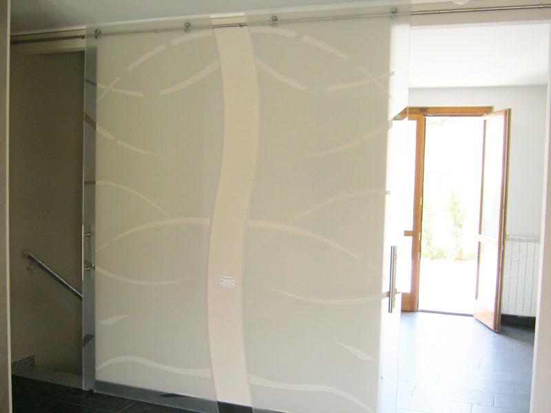 Le porte scorrevoli in vetro di Nova Vetro